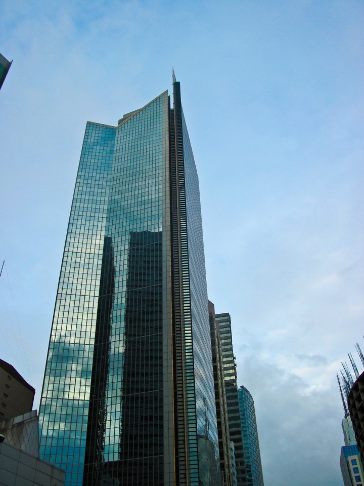 GT Tower along Ayala Avenue 2