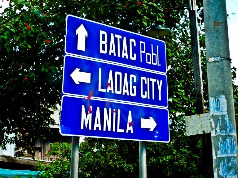 ilocos norte sign board