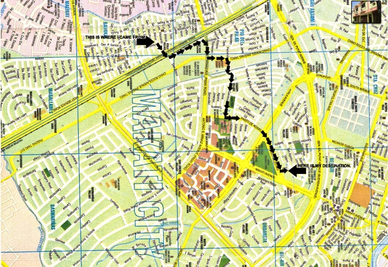 What a day today - my route today 07-13-2009