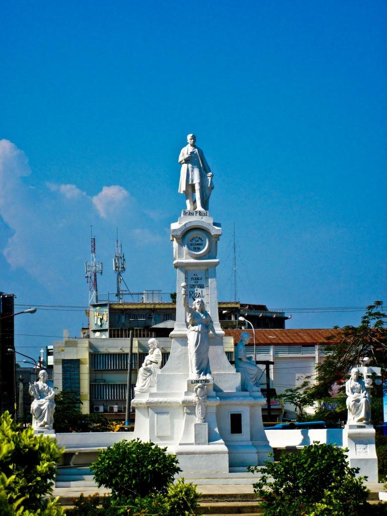 Plaza Rizal infront of Zamboanga City Hall 2