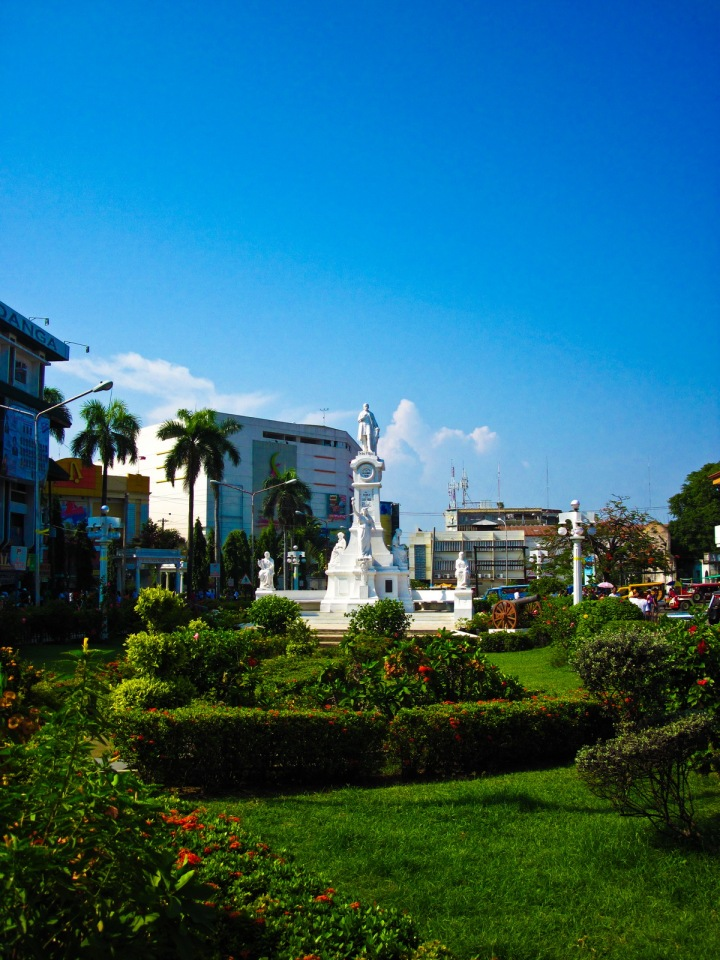 Plaza Rizal infront of Zamboanga City Hall
