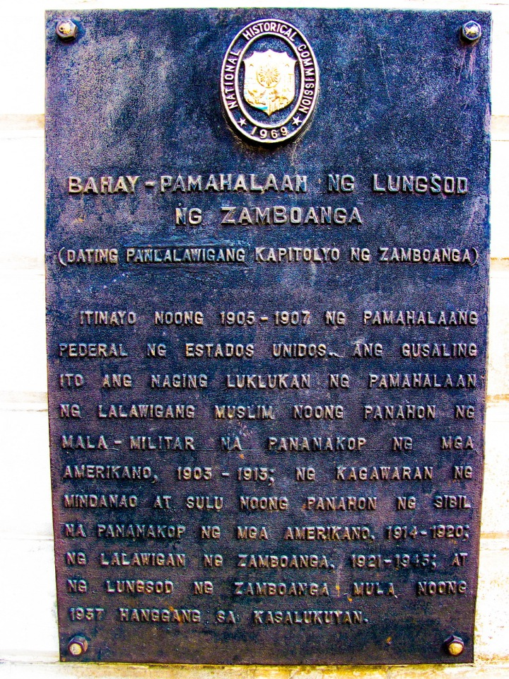 Zamboanga City Hall Historical Marker