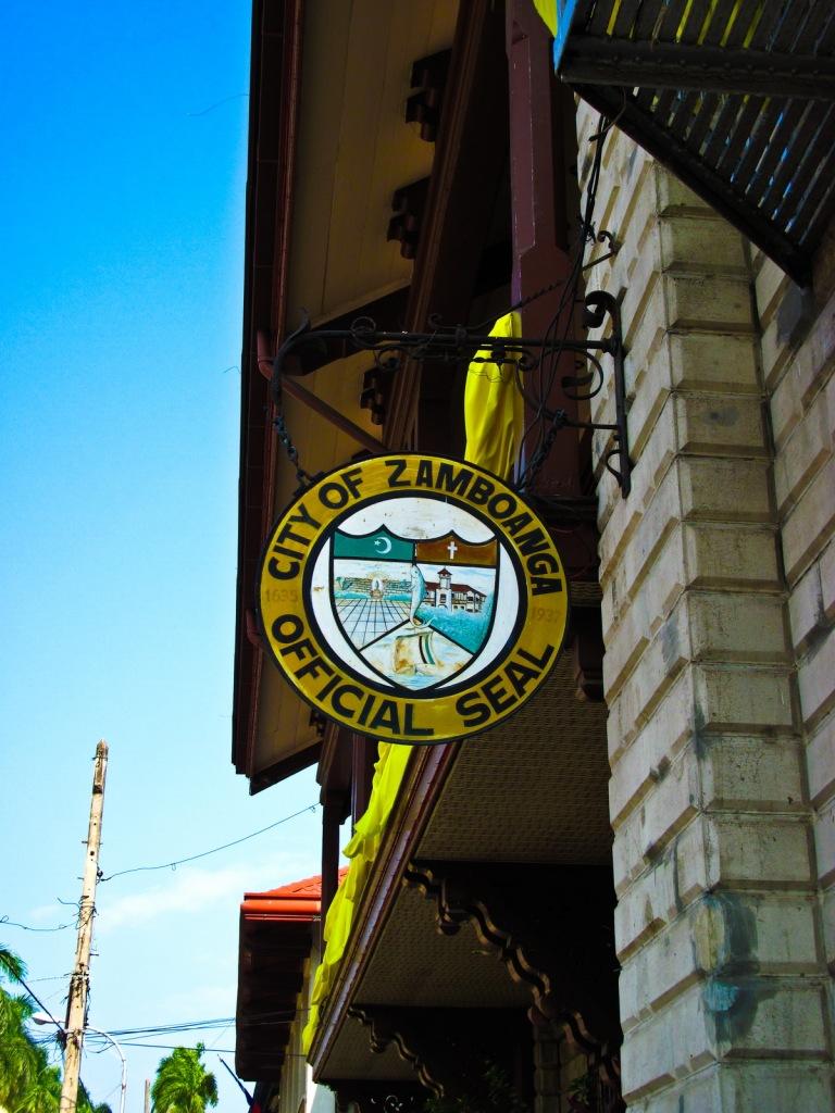 Zamboanga City Seal Hanging at City Hall