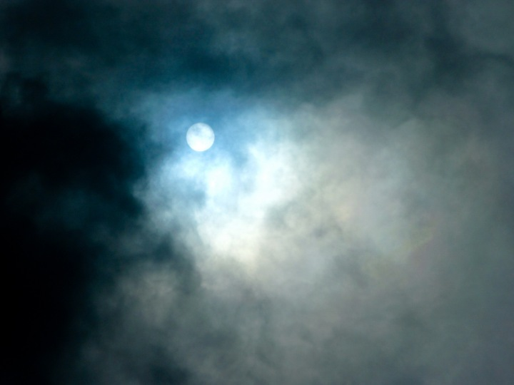sun behind clouds 3