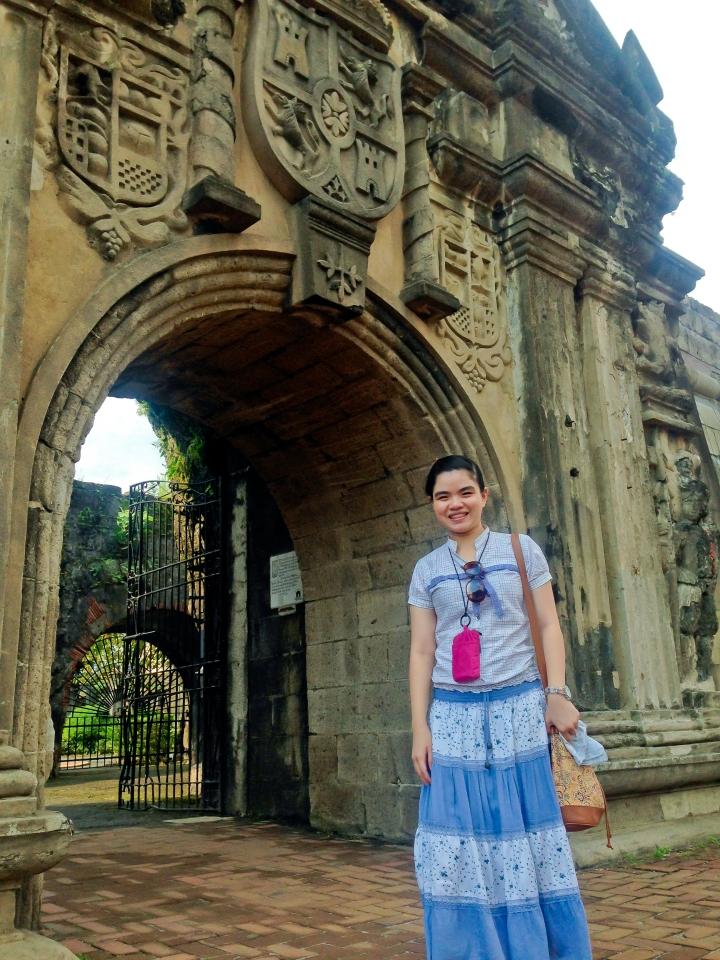 Main Entrance Fort Santiago