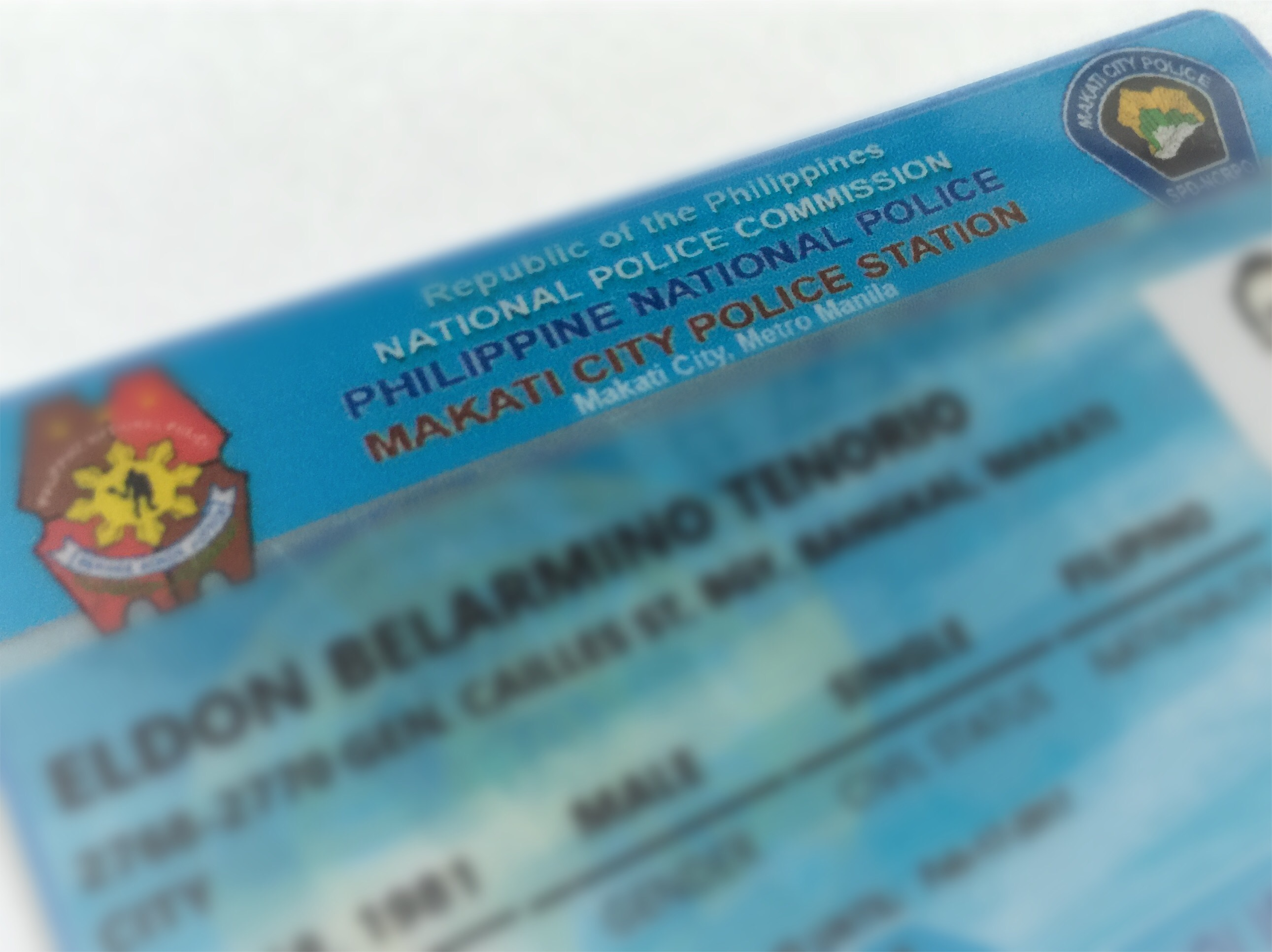 Securing a Police Clearance in Makati – Eldon B  Tenorio: My