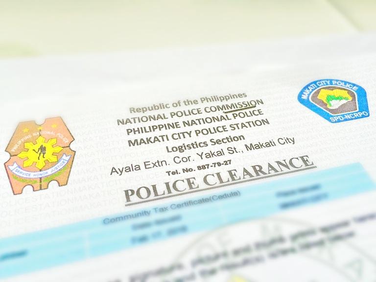 Makati City Police Clearance