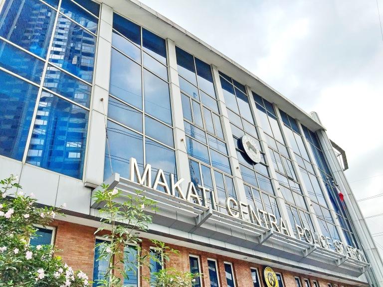 Makati City Police Station Facade