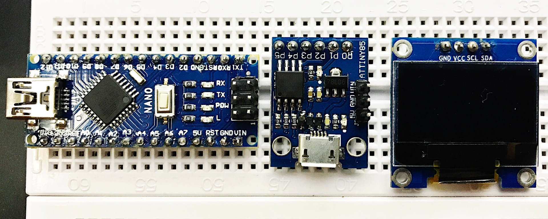 OLED (I2C) With ATtiny85 – Eldon B  Tenorio: My Thoughts, My Views